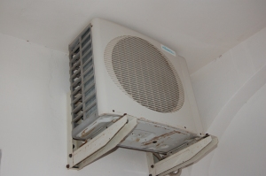 Air to air heat pump -external unit